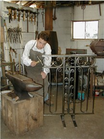 hand forged wrought iron by Nigel Tudor